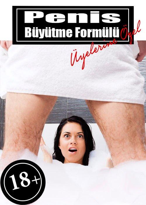 Penis Büyütme Formülü üyelerine